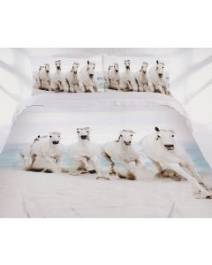Beach Canter Quilt Cover Set