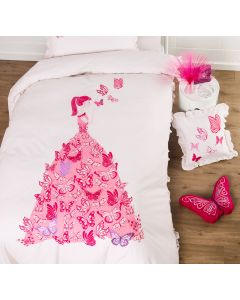 Butterfly Dress Quilt Cover Set