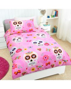 Candy Skulls Duvet Cover