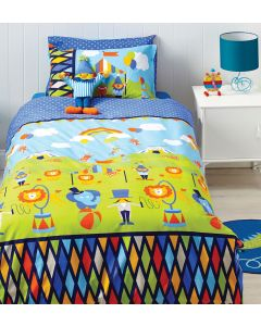 Circus Fun Quilt Cover Set