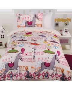 Circus Girls Quilt Cover Set