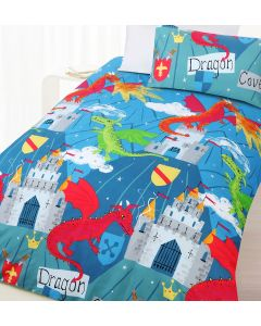 Dragon Cove Duvet Cover
