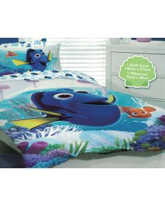 Dory and Nemo Quilt Cover Set
