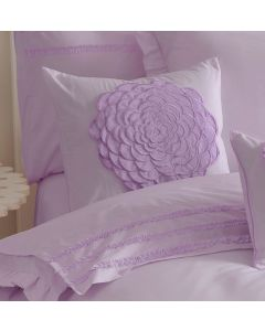 Floret Lilac Square Cushion
