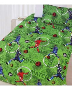 Footy Quilt Cover Set