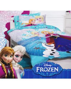 Frozen Glitter Quilt Cover Set