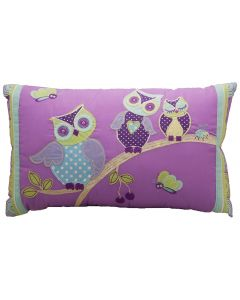 Hooty Owls Oblong Cushion