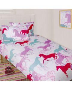 Horse Quilt Cover Set