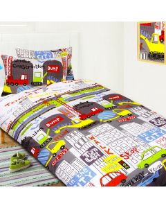 In the City Quilt Cover Set
