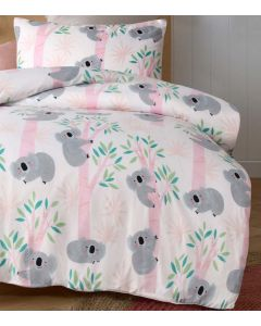 Lovely Koalas Quilt Cover Set