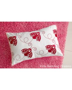 Lady Beetle Oblong Cushion