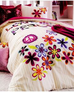 Love and Peace Quilt Cover Set