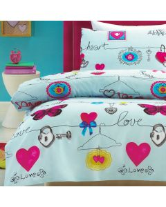 Loveline Quilt Cover Set