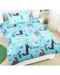 Lulu Llama Quilt Cover Set