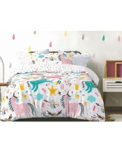 Magical Unicorn Quilt Cover Set
