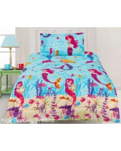 Mermaids Comforter Set