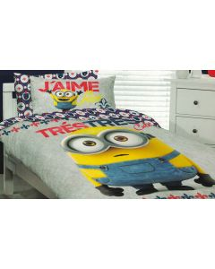 Minions I Love Yellow Quilt Cover Set