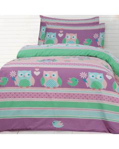 Night Owl Quilt Cover Set
