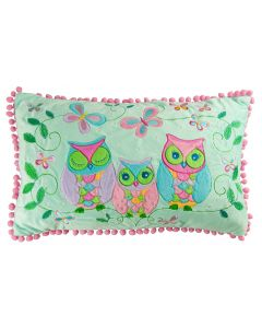 Owl Song Cushion