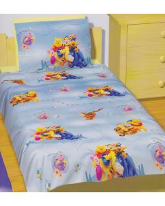 Pooh Clouds Quilt Cover Set