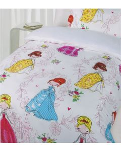 Princess Girls Quilt Cover Set