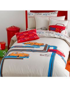 Retro Cars Quilt Cover Set