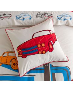 Retro Cars Square Cushion