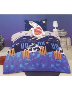 Rocket Quilt Cover Set