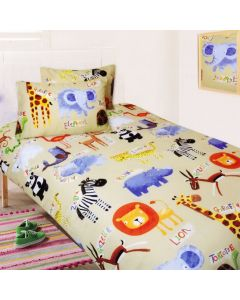 Safari Quilt Cover Set