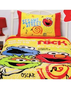 Sesame Street Rock Quilt Cover Set
