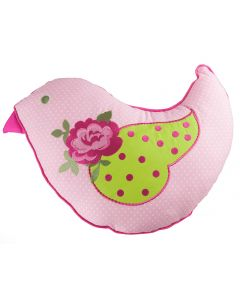 Shabby Chic Bird Cushion