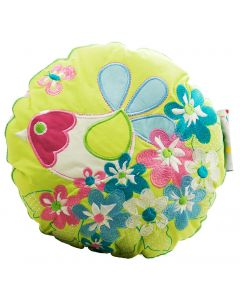 Sitting Pretty Birdie Round Cushion