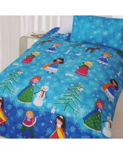 Snow Princess Duvet Cover
