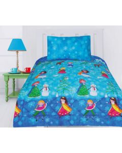 Snow Princess Comforter Set