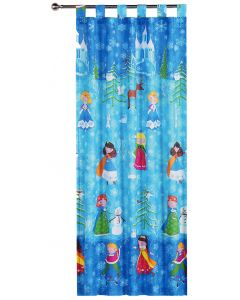 Snow Princess Tab Top Curtains