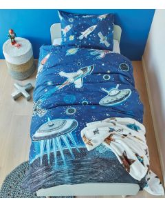 Space Quilt Cover Set