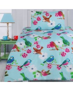 Summer Birds Quilt Cover Set