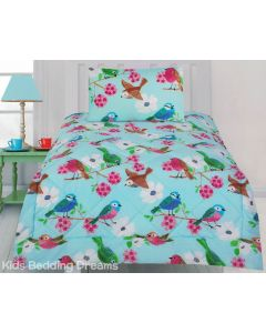 Summer Birds Comforter Set