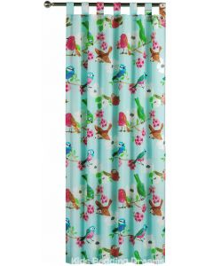 Summer Birds Tab Top Curtains