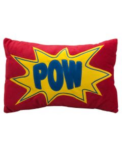 The POW cushion is the ultimate pillow for comic book and superhero fans.
