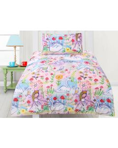 Swan Princess Comforter Set