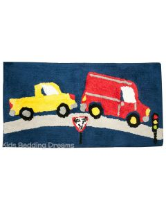 Traffic Jam Floor Mat