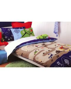 Treasure Hunter Duvet Cover