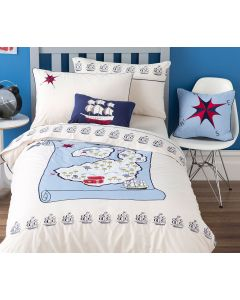Treasure Map Quilt Cover Set