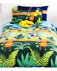 Treetop Explorer Quilt Cover Set