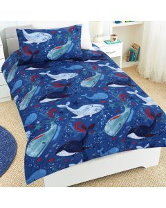 Whale of a Time Duvet Cover