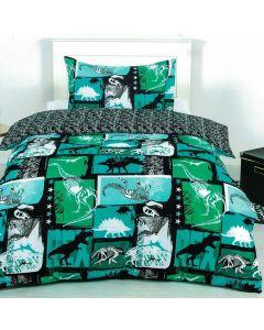 Xray Dino Quilt Cover Set