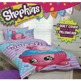 Shopkins Little Sweetie Quilt Cover Set - Shopkins Bedding ...