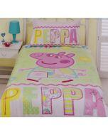 Peppa Pig Summer Quilt Cover Set