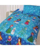 Snow Princess Duvet Cover